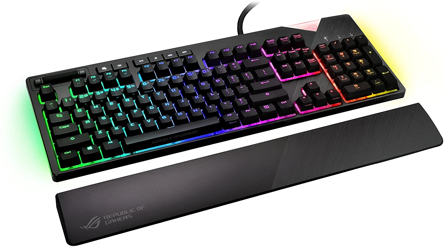 Asus Rog Strix tastiera gaming top di gamma con switch Cherry MX Red