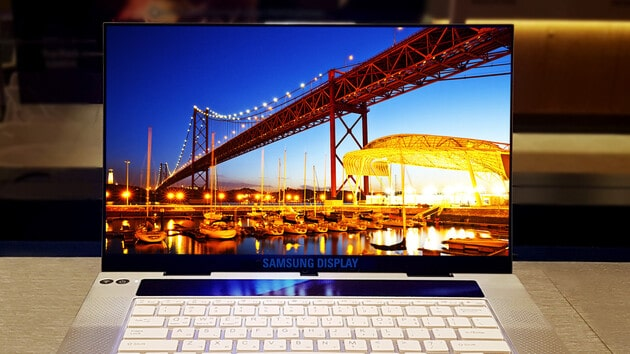 notebook samsung con display 4k ips