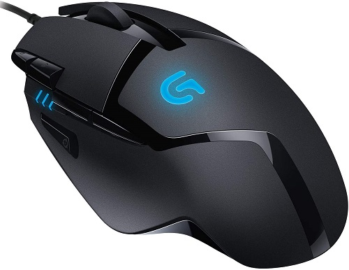 Logitech G402 mouse gaming economico recensione
