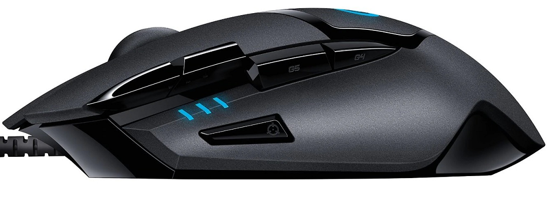 g402 mouse gaming economico per claw grip palm grip