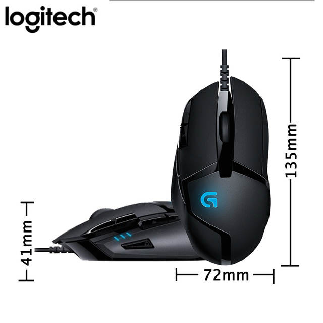 Logitech G402 specifiche tecniche recensione mouse gaming