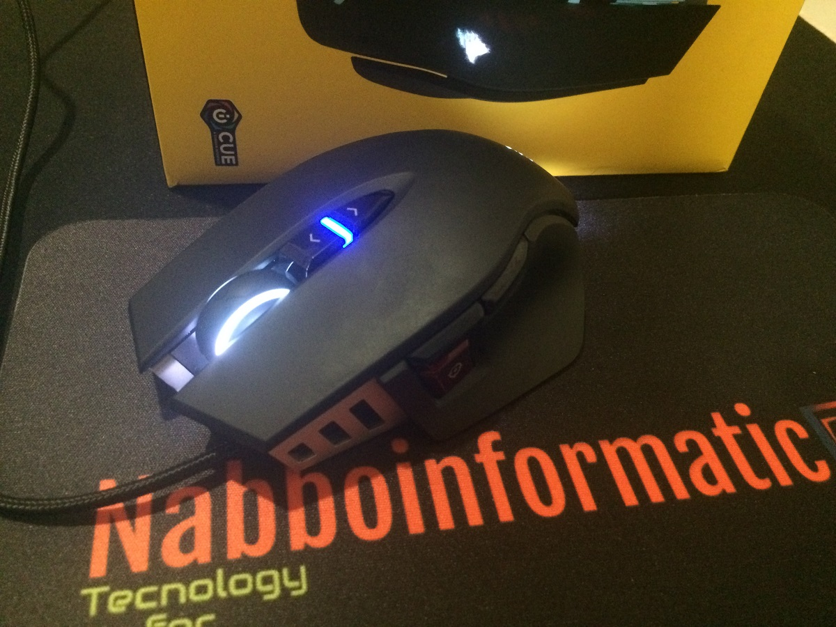 Corsair M65 RGB Elite Mouse Gaming per FPS Claw Grip